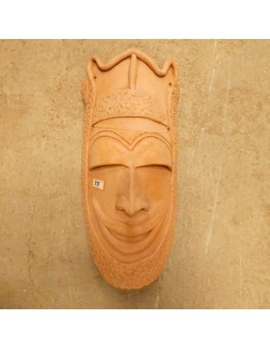 Máscara de arcilla para colgar